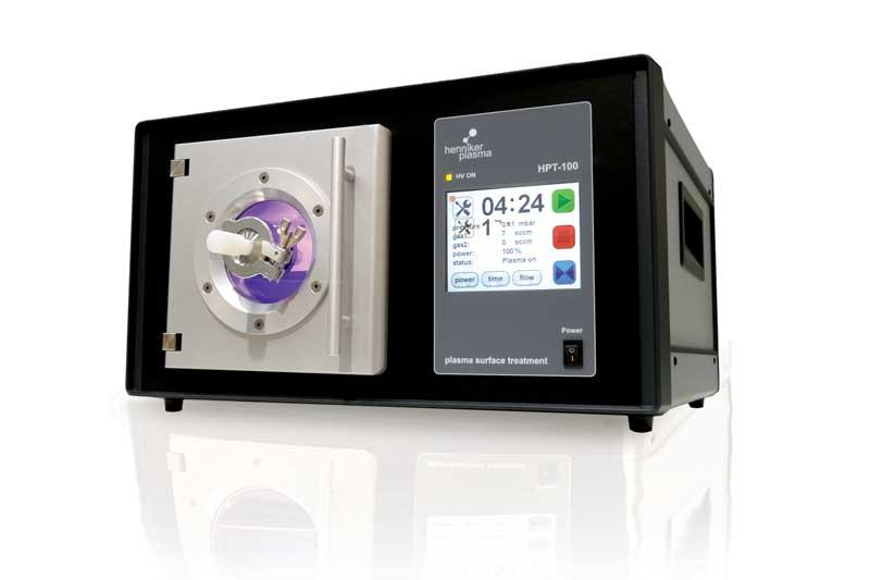 Plasmareiniger für die Mikroskopie